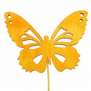 Deko Schmetterlinge Groß : deko schmetterlinge am draht 3 farbig 8cm 18st gro handel und lagerverkauf ~ Yasmunasinghe.com Haus und Dekorationen