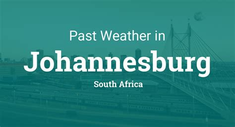 weather  johannesburg south africa yesterday