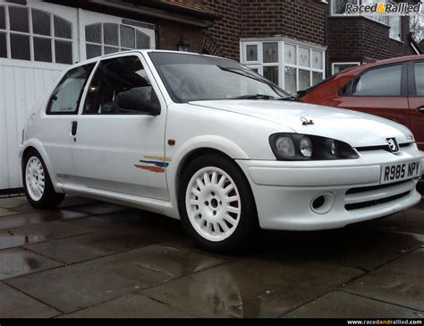 for car 106 rallye 8v track car 155bhp throttle bodied