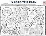 Trip Road Lodge Wolf Ultimate Coloring Sheet Map Below sketch template