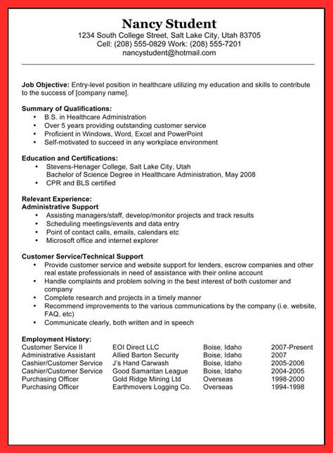 Resume Draft by Draft Resume Exle Resume Format