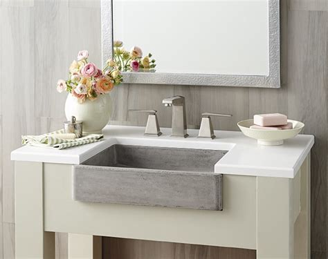 Concrete Farmhouse Sinks