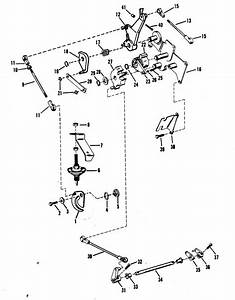 Throttle And Shift Linkage Mercury Manual For Mariner