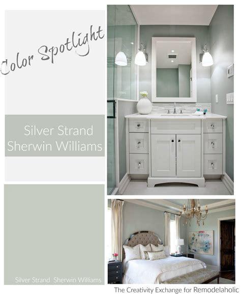 remodelaholic color spotlight silver strand by sherwin