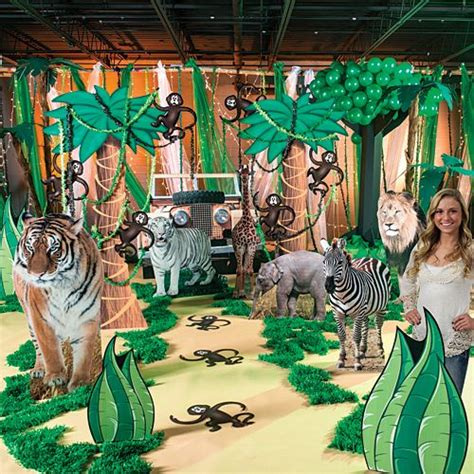 great ideas  safari party decorations  pinterest