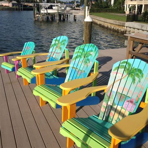 painted adirondack chairs artseadesigns painted