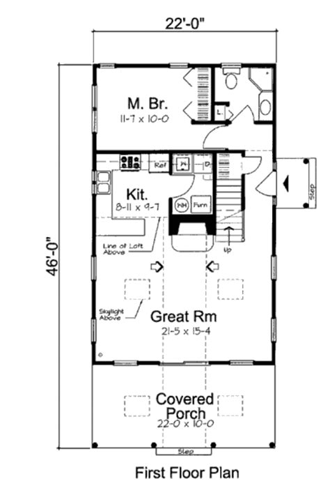 cottage style house plan  beds  baths  sqft plan