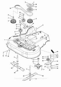 Exmark Ecs180cka30000 S  N 400 000 000 And Up Parts Diagram For Spindle And Blade Assembly