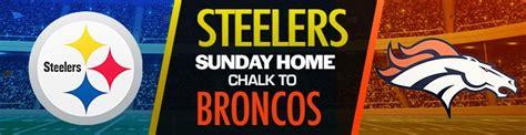 Broncos vs. Steelers NFL Week 2 Betting Predictions, Odds ...