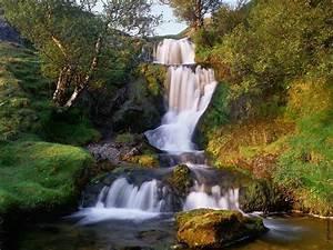 Scenery Of Waterfall | Free Wallpaper World