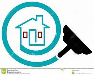 House Cleaning Logo Stock Photo - Image: 17882510