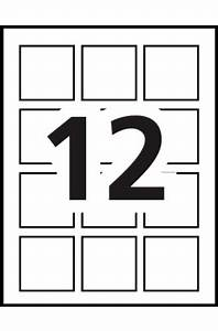 Averyr print to the edge square labels 22816 template for Avery square labels template