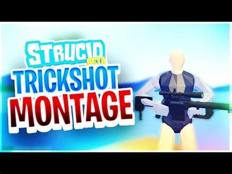 roblox strucid trickshot montage  youtube