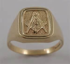 Antique Jewelry Masonic Rings