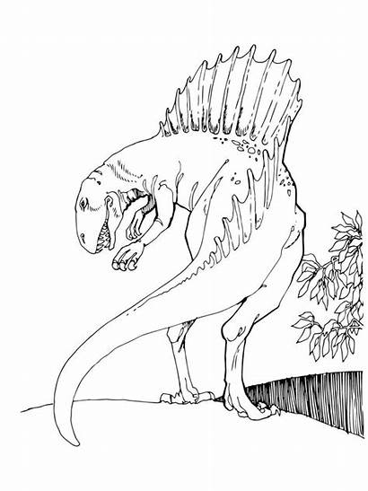 Jurassic Coloring Pages Dino