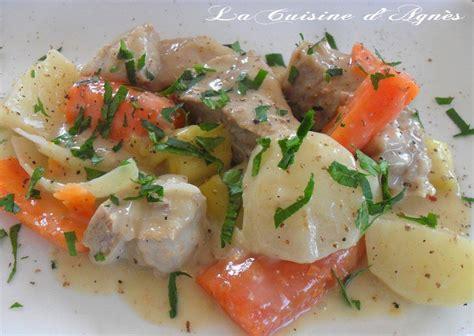 recettes cuisine franaise traditionnelle la blanquette de veau 224 l ancienne de paul bocuse la cuisine d agn 232 sla cuisine d agn 232 s