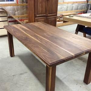 Table En Noyer : table noyer noir ~ Teatrodelosmanantiales.com Idées de Décoration