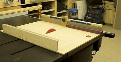 tablesaw crosscut sled