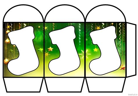 colored printable christmas paper lantern template