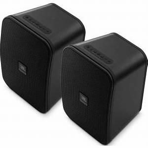 Enceinte Radio Bluetooth : paire d 39 enceintes st r o jbl control x bluetooth gris ~ Melissatoandfro.com Idées de Décoration
