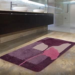 Tapis salle de bain design cobtsacom for Tapis de salle de bain design