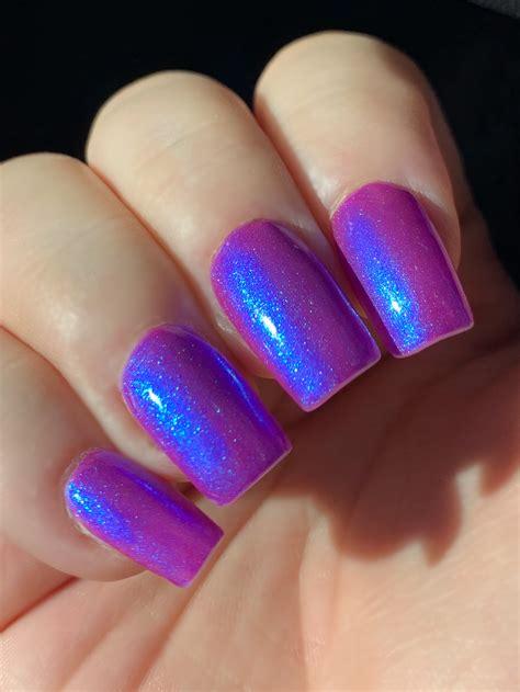 Wonder Glow- Neon Purple Blue Magenta