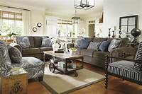 family room furniture Living Room Furniture Layout Guide & Plan Ideas | Ashley ...