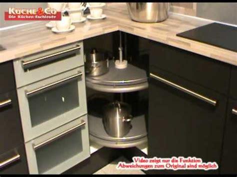 Küchen Eckschrank Mit Rondell by Nolte Eckschrank Rondell Doppelwaschbecken Stein