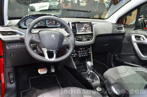 peugeot  facelift interior   geneva motor