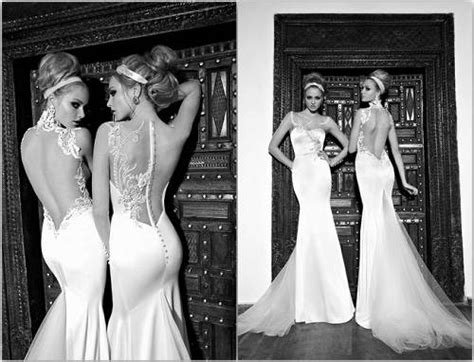 Backless Wedding Dresses 2013