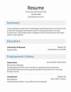 Free resume builder resumecom for Free resume make