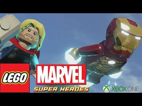 lego marvel heroes that sinking feeling part 11 xbox one