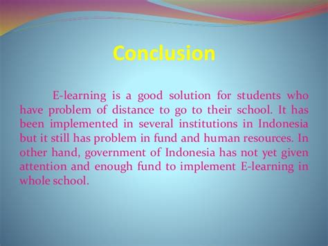 e learning concept