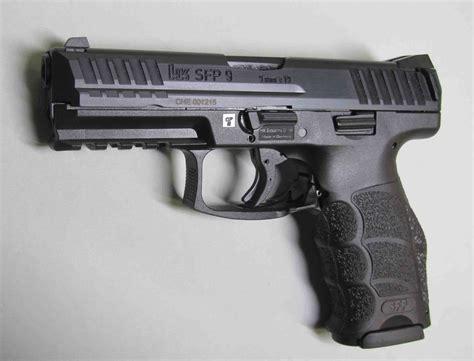 pistolet hk sfp kal  mm czarny