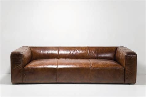 sofa cubetto leder braun