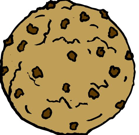 Chocolate Chip Cookie Clip Art Free