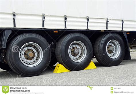 chocks   wheel stock photo image