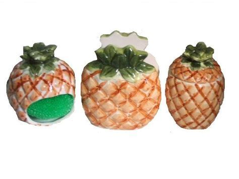 Pineapple Kitchen Accessories Tropical Napkin Holder Mini