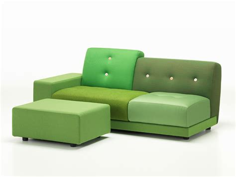 Buy The Vitra Polder Sofa Green At Nest.co.uk