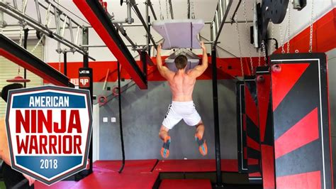american ninja warrior  full ninja training session