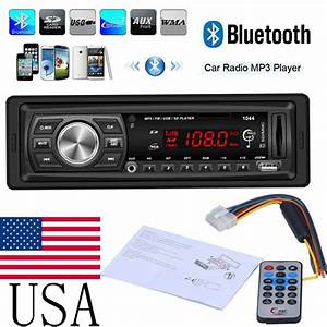 Mp3 Player Auto : bluetooth car in dash fm radio stereo audio receiver mp3 ~ Kayakingforconservation.com Haus und Dekorationen
