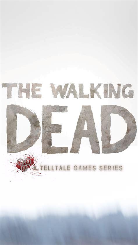 walking dead game wallpaper iphone