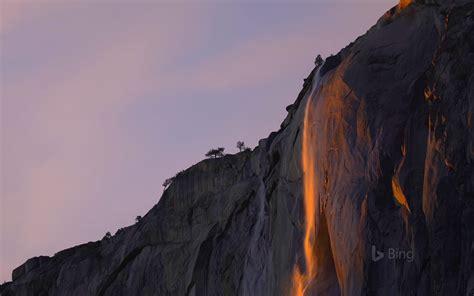 Firefall Tail Fall Yosemite National Park
