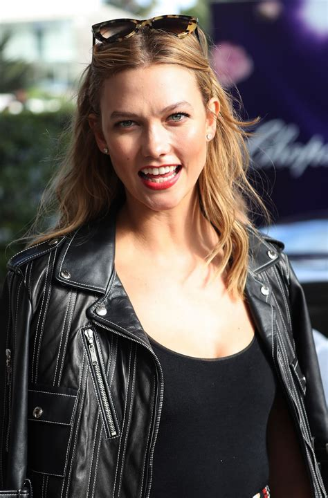 Karlie Kloss Leaving Martinez Hotel Cannes