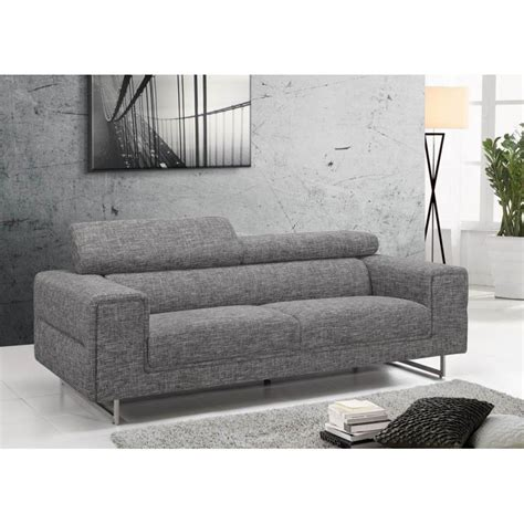 canap contemporain design canap fixe contemporain gris clair beverly