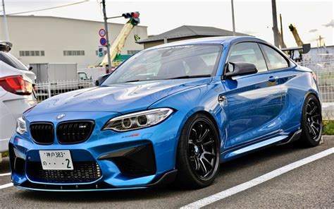 Download Wallpapers Bmw M240i Coupe, 4k, 2017 Cars, Tuning