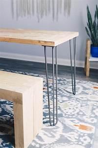 Hairpin Legs Baumarkt : 28 hairpin legs raw steel industrial by design ~ Frokenaadalensverden.com Haus und Dekorationen