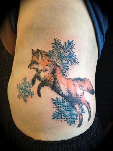 fox tattoo images designs