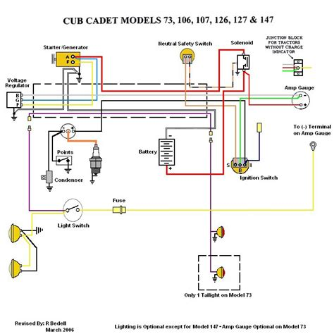 Cub Cadet 127 Wiring Harnes by Ground Wire Cub Cadet Tractor Forum Gttalk