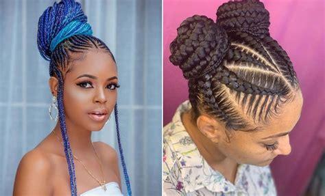 23 braided bun hairstyles for black hair stayglam